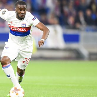 Tanguy Ndombele of Lyon during the Europa League match between Lyon and Everton at Groupama Stadium on November 2, 2017 in Lyon, France. (Photo by Alexandre Dimou/Icon Sport)